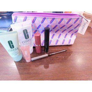Clinique 6 PCS Skincare Travel Makeup Deluxe